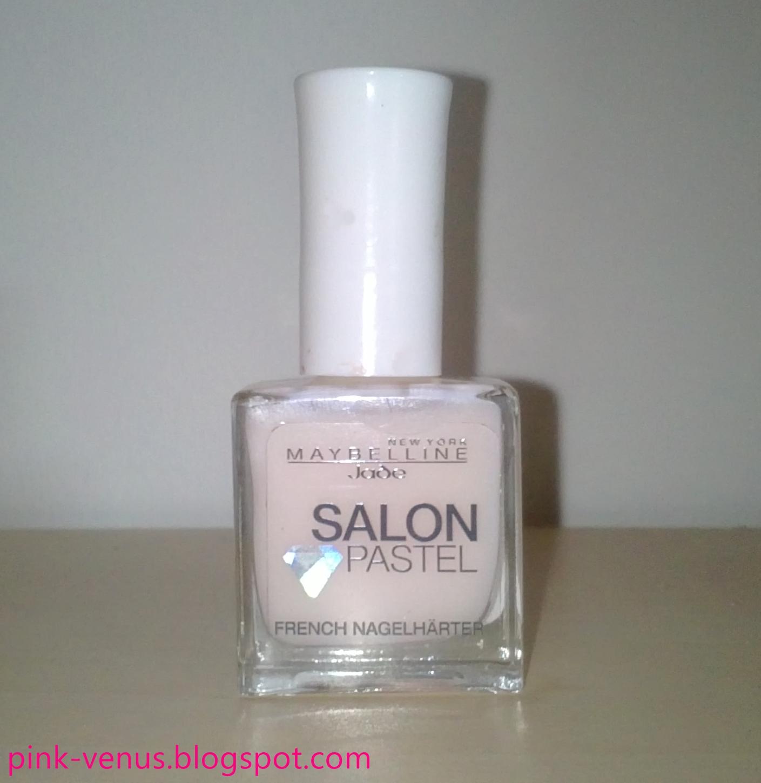 Pink-Venus: Getestet: Maybelline Jade Salon Pastell French Nagelhärter