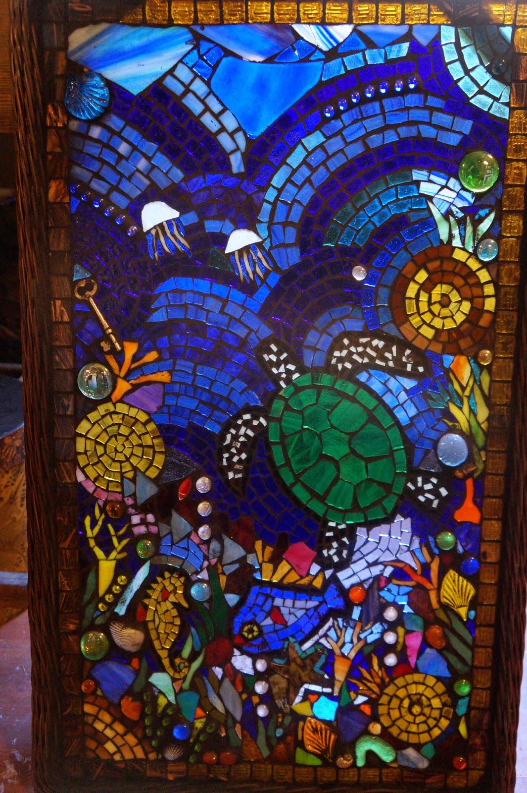 Green Man Mosaics