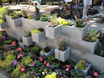 Seeking Greener Thumb Cinder Block Succulent Planter
