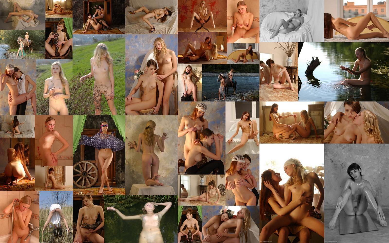 коллекция качественных эротических фоторабот знаменитого русского фотографа