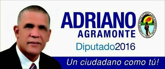 Adriano, diputado!