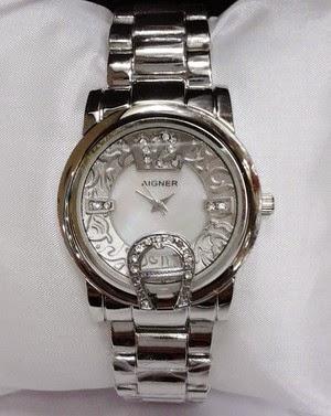 Jam Tangan Aigner Bari Batik Silver