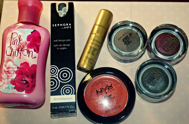 Sephora opi bath and body works nail art pen nyx orange maybelline colour tattoo eyeshadow