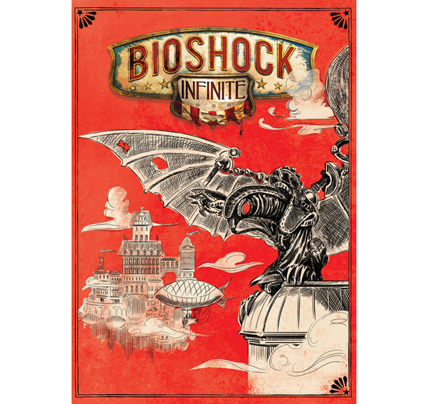 Bioshock infinite alternative cover songbird