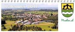 Gemeinde Fotokalender 2017: