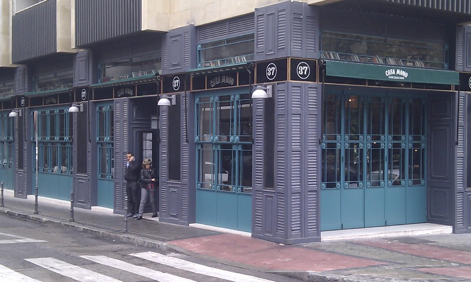 Ocio a los 40 restaurante casa mono madrid comida con - Casa mono restaurante ...