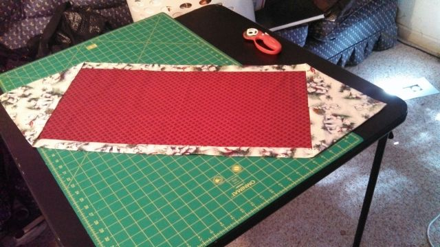 Life the second half of a century 10 minute table runner for 10 minute table runner directions