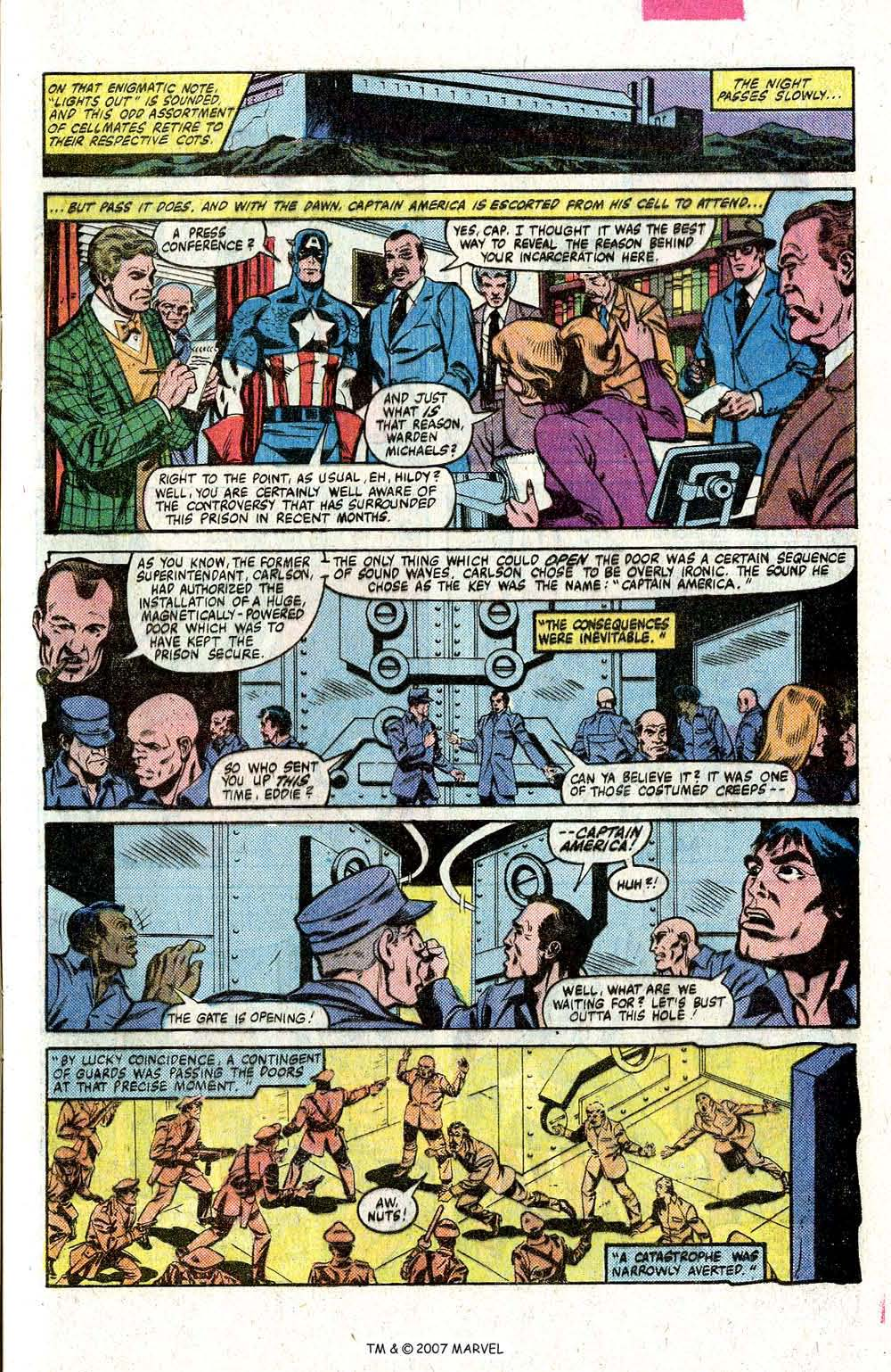 Captain America (1968) Issue #260 #175 - English 9