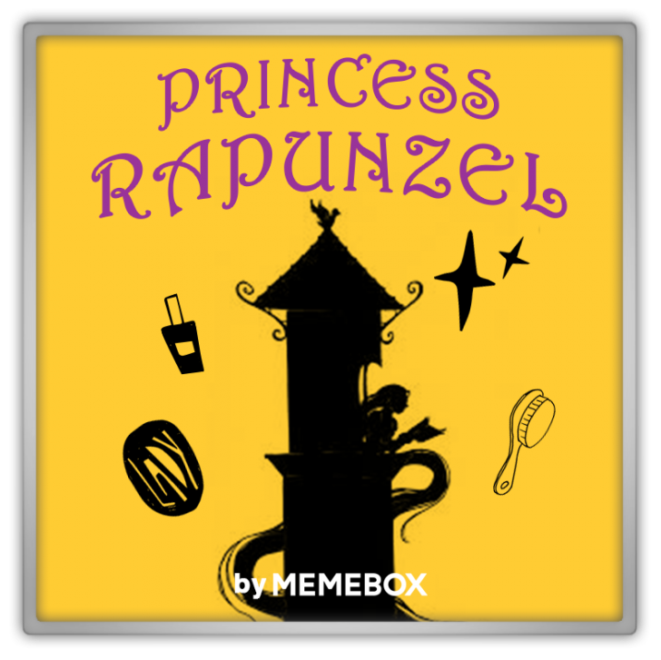memebox Superbox Princess Edition #3 Rapunzel 미미박스 Commercial