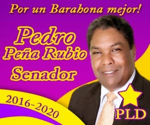 SENADOR PLD POR BARAHONA 2016