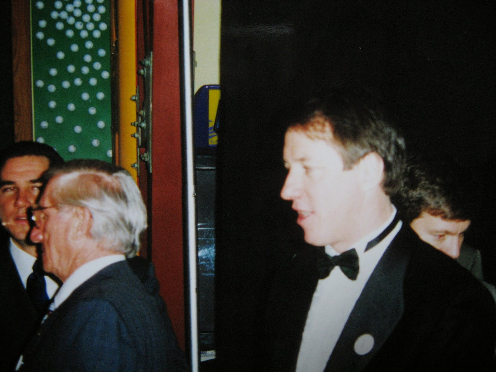 Jim Kelly arriving at the Hunter's Hope Foundation fundraiser at the All-Star Cafe Jan, 15 1998