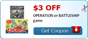 Battleship Printable Coupon