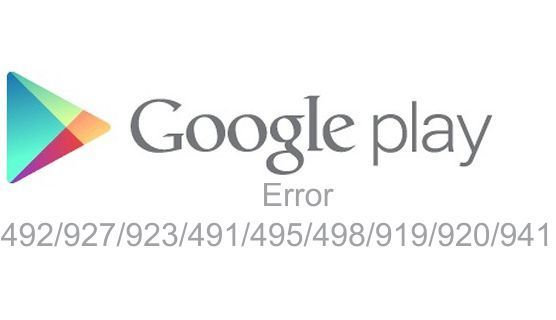 Memperbaiki Google Play Error Di Android