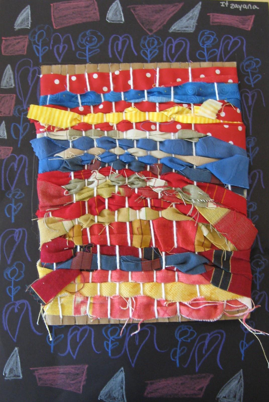 Art Matters Fabric Weaving