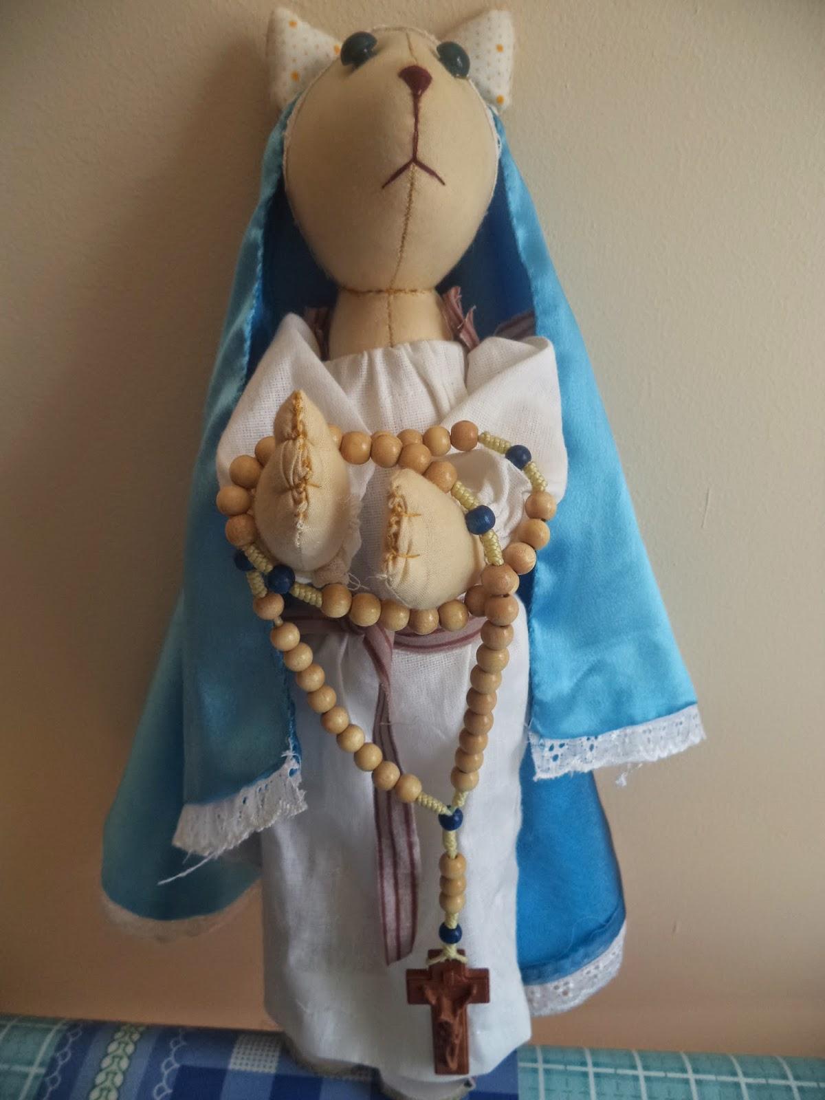 Мария в стиле Тильда-кошечки)))
