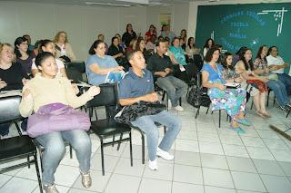 Pais e responsáveis participaram da Reunião para o Fortalecimento dos Conselhos Escolares