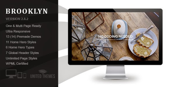 Brooklyn v2.8.2 - Creative One Page Multi-Purpose Theme
