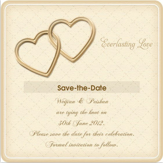Je T Aime Wedding Lunch Pre Invitation