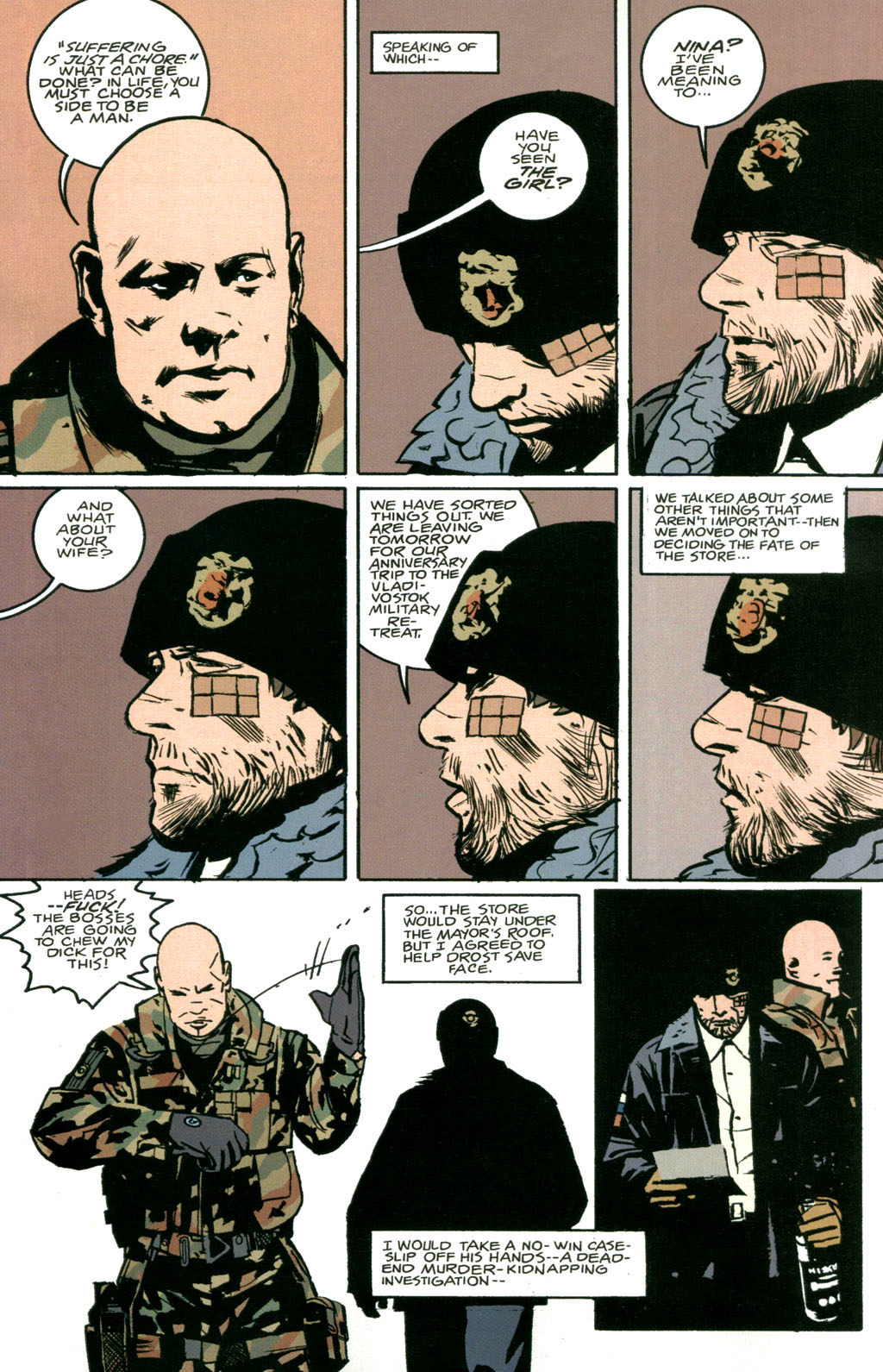 Read online The Winter Men comic -  Issue #1 - 12