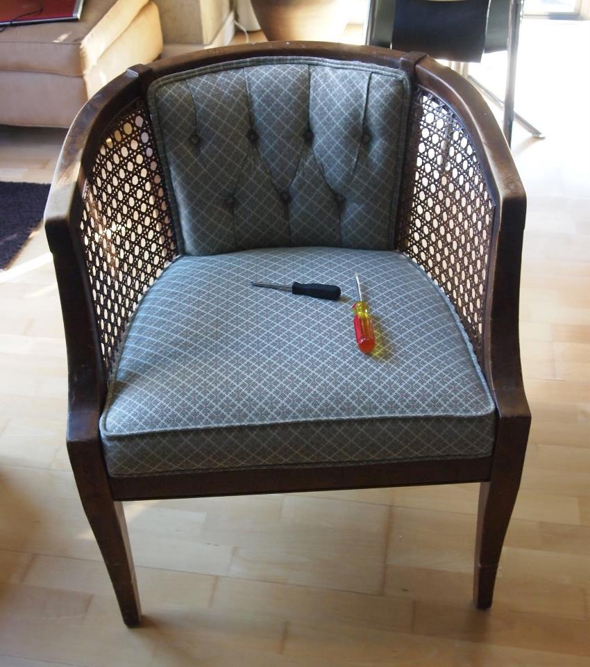 Anthropologie Astrid Chair Inspired Makeover!