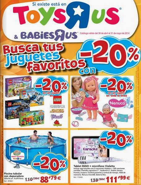 toysrus juguetes de mayo 2014
