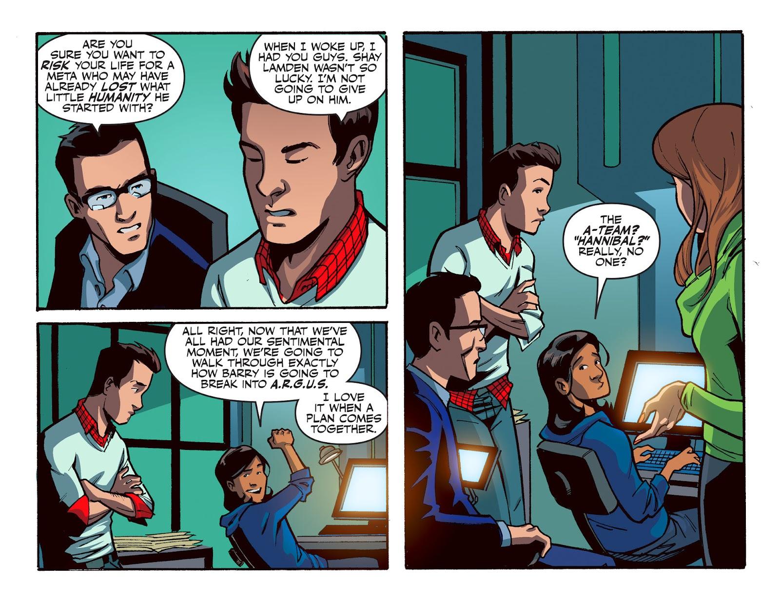 The Flash: Season Zero [I] Issue #16 #16 - English 4