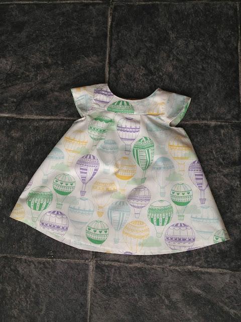 Model Iris. Luftballon. Kjole til Agnes. Knödelicious