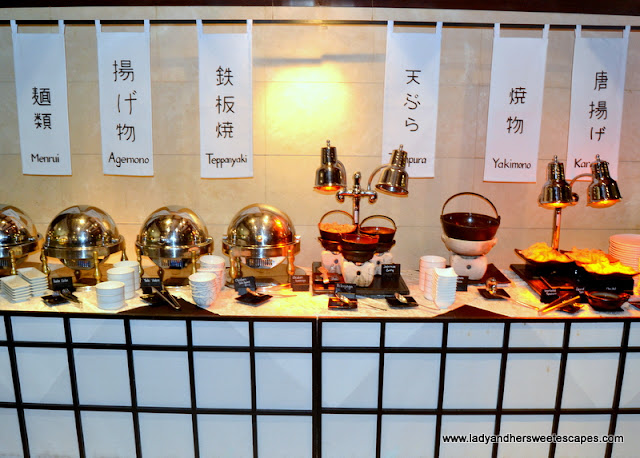 Japanese fare at Minato in Radisson Blu
