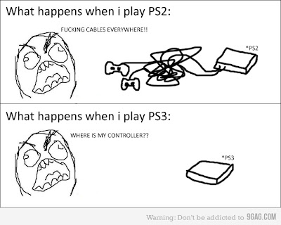 The difference between the ps2 and the ps3