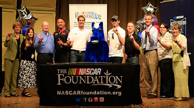 #NASCAR Elite Visit Kansas City School!