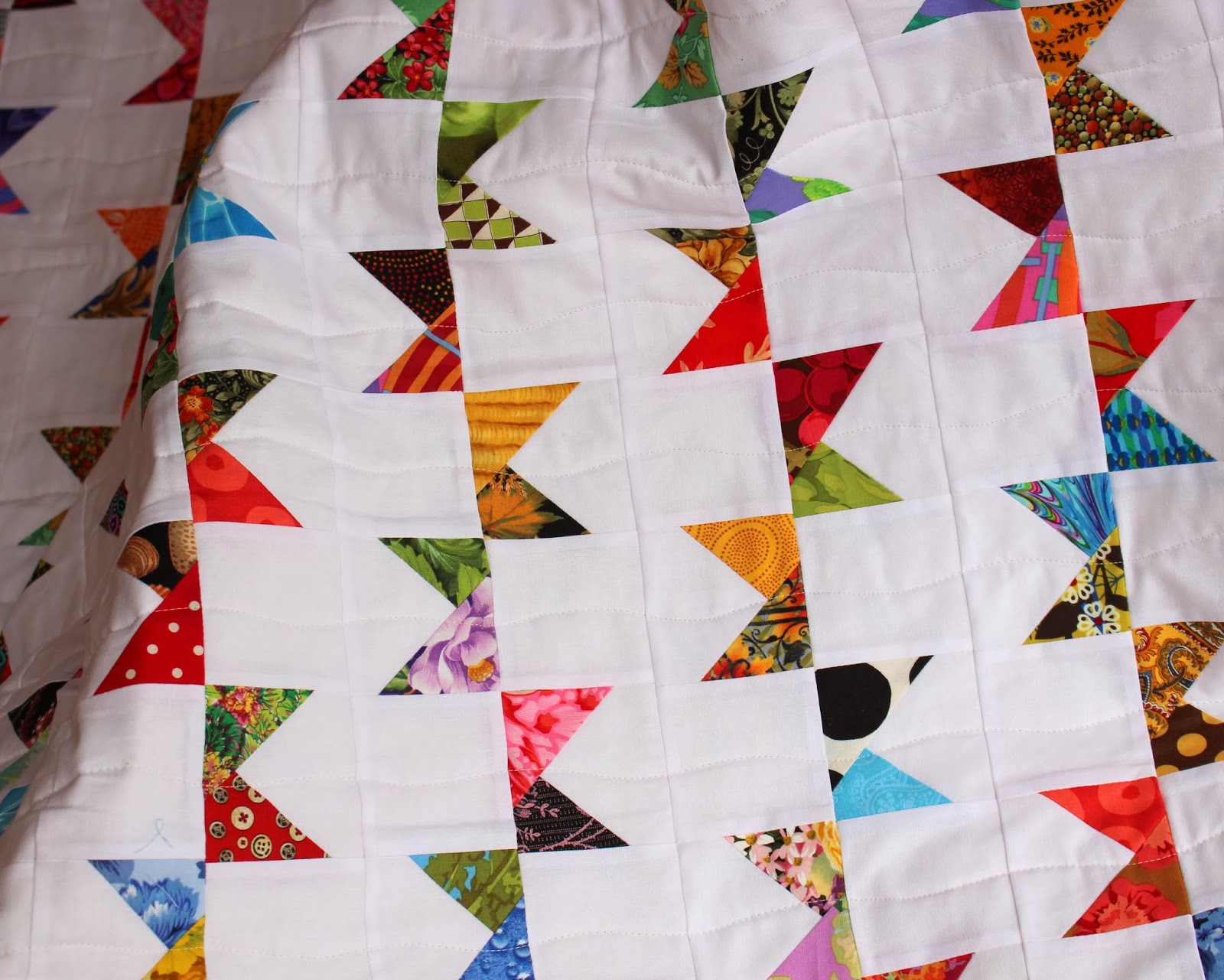 Simple Modern Quilt Patterns Free : Selvage Blog: Bunting Quilt and Pattern!