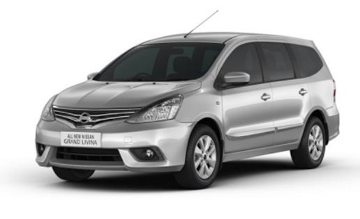 Grand Livina Silver - Nissan Mobil terbaik pilihan keluarga Indonesia