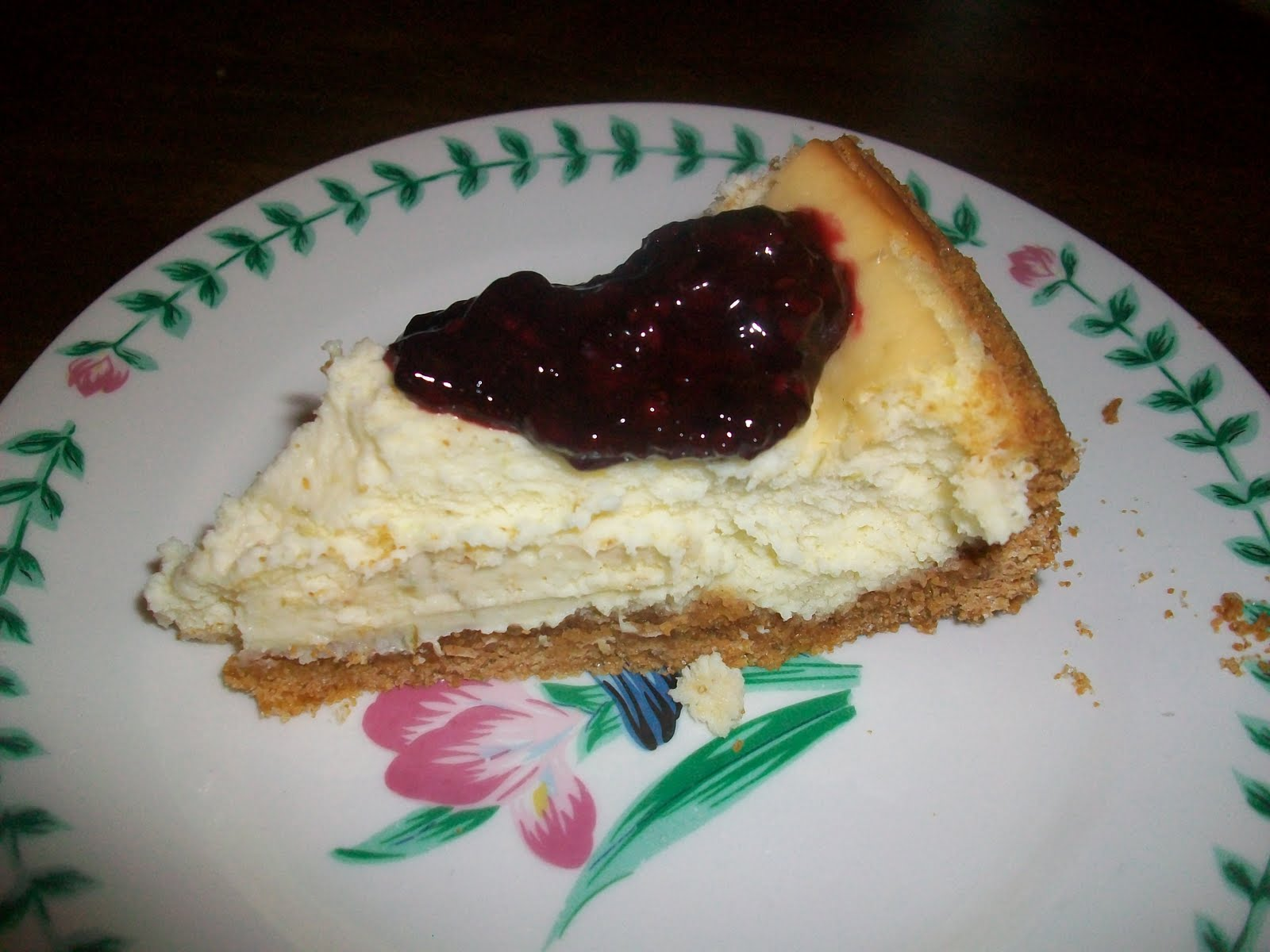 Double the Deliciousness: Lime Cheesecake with Blackberry Sauce