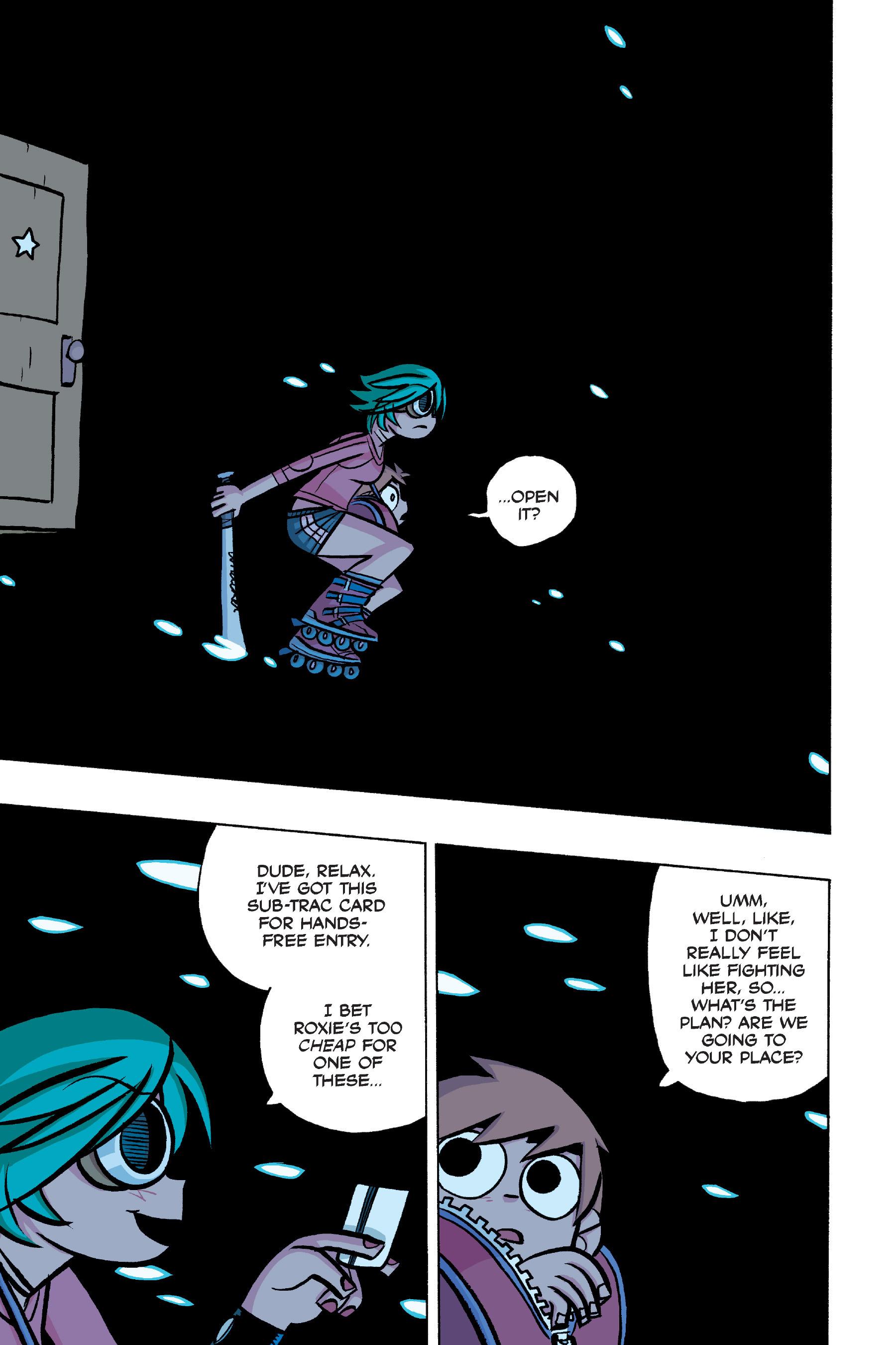 Read online Scott Pilgrim comic -  Issue #4 - 115