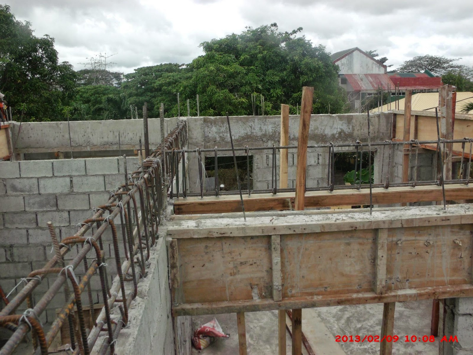 Glenville subdivision house construction project in for Modern rest house design