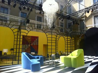 Versace Home no Salão do Móvel de Milão 2012