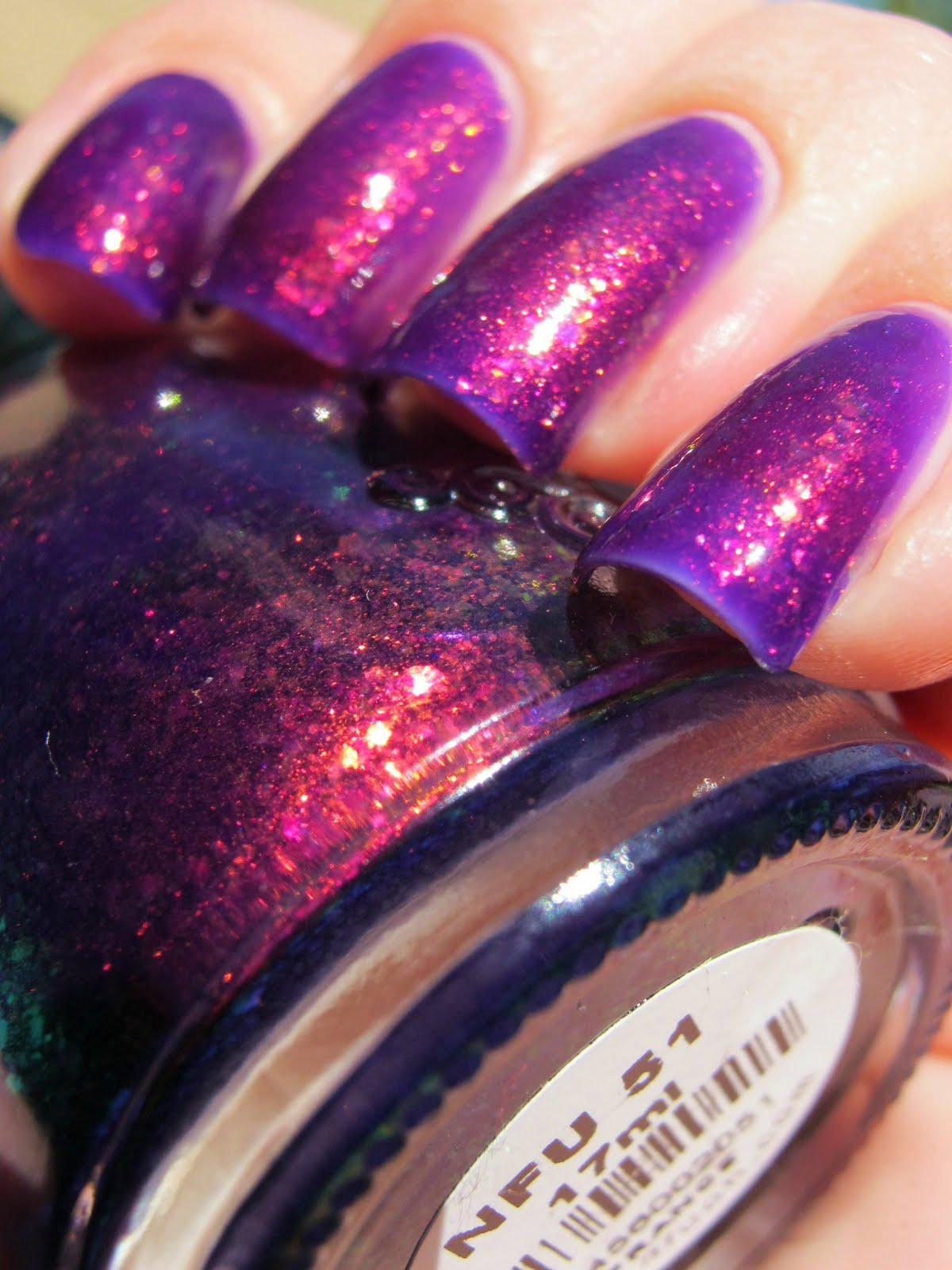 KellieGonzo: Guest Post by Kiss My Acetone: Nfu-Oh 51