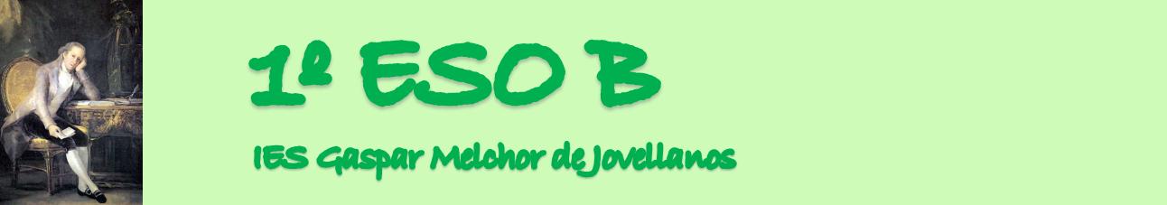 1º ESO B.IES JOVELLANOS