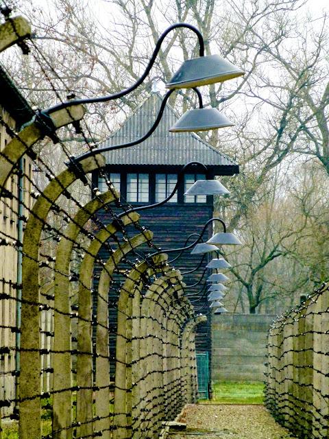 Auschwitz, torre de vigilancia