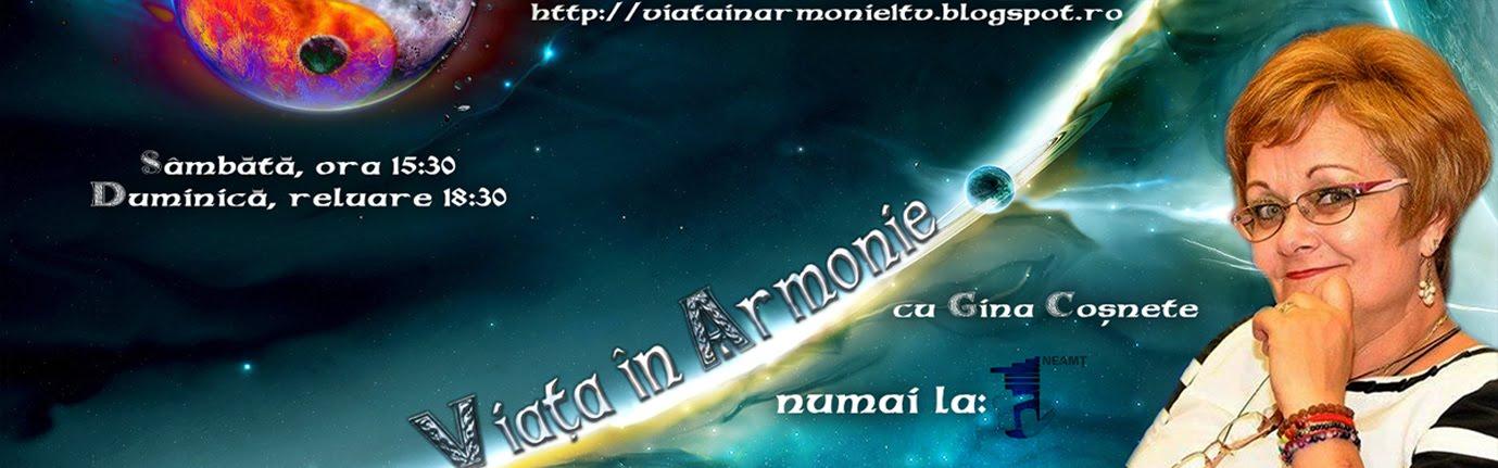 Viata in armonie - 1 TV NEAMT - Romania