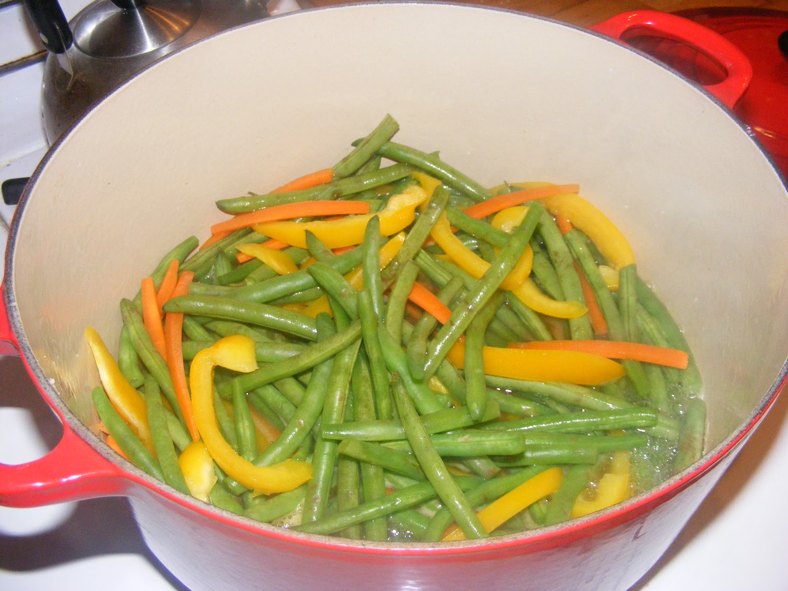 Green and Lean: Miso Butter Green Beans