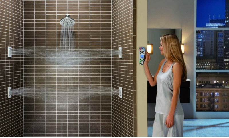 Wonderful Wall Shower Jets Contemporary - Bathtub for Bathroom ...