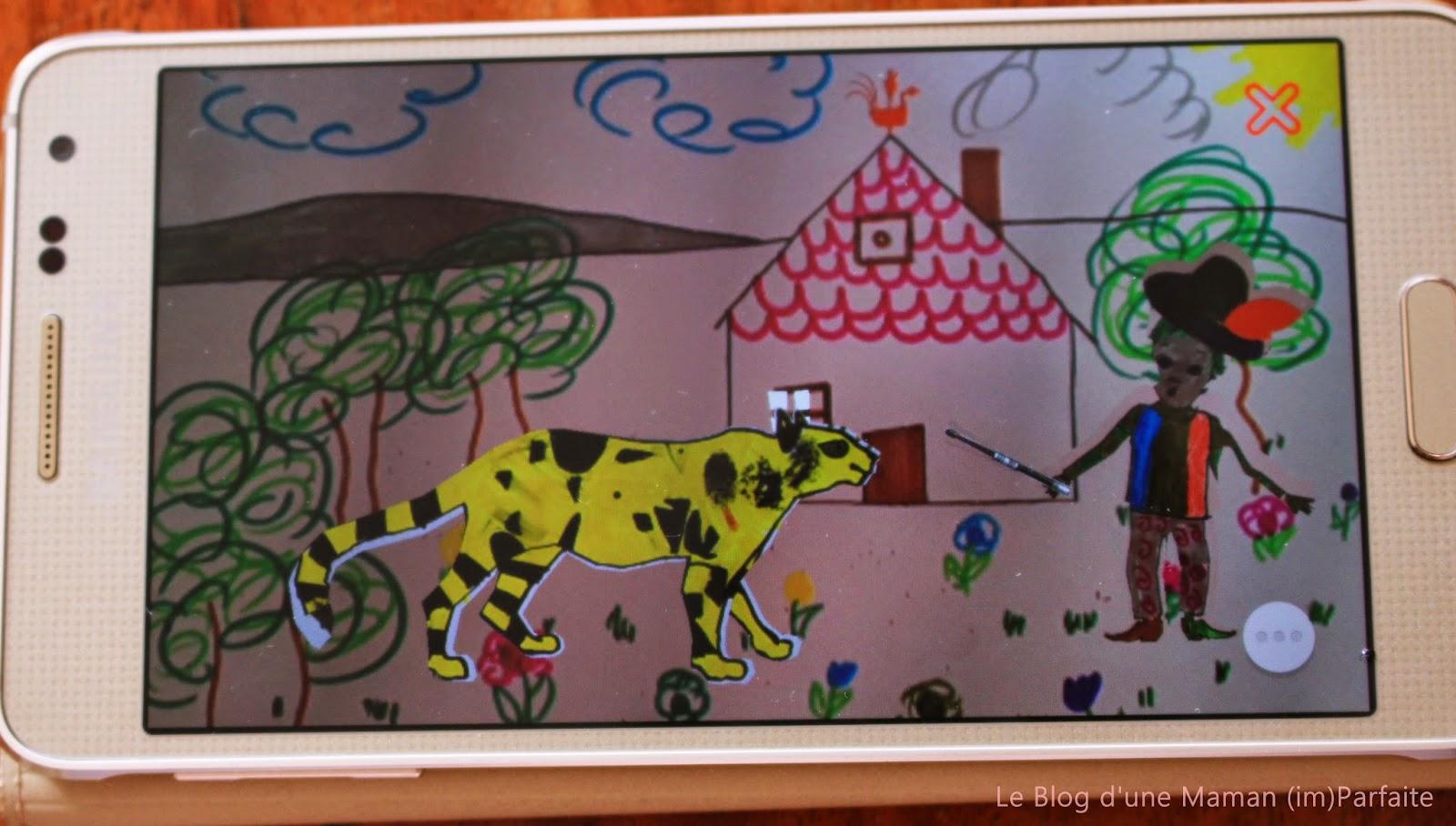 Cahier De Coloriage Animé - Avec le cahier de dessin animé, les coloriages prennent vie