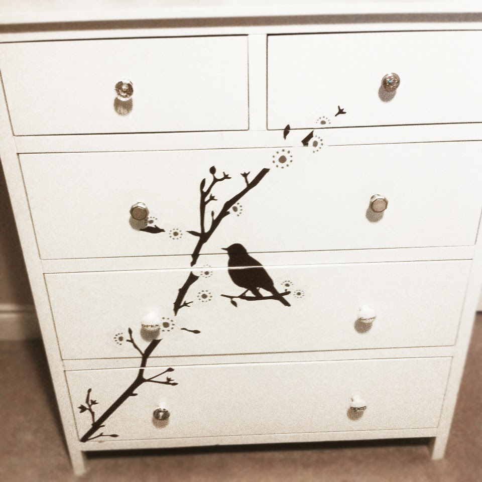 MuchoCrafts WALL DECAL ON FURNITURE - Wall decals on furniture