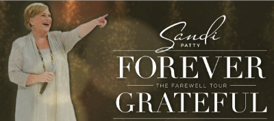 Sandi Patty announces Farewell concert tour.