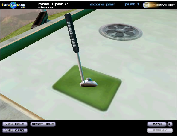 Ball Game : Verti Golf 2