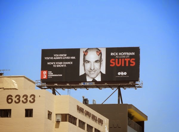 Rick Hoffman Suits 2014 Emmy Consideration billboard