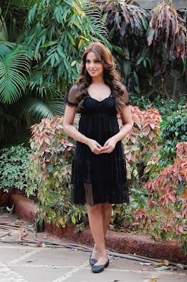 Bipasha Basu on the sets of Star Plus' show 'Arjun'