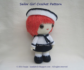 Dora the Explorer Doll - PDF Crochet Pattern