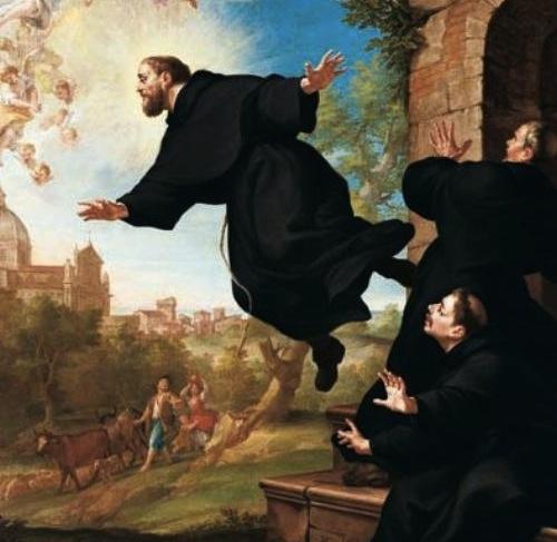 Catholic fire st joseph of cupertino the flying saint